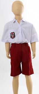 Busana Seragam Anak SD sebagai cara memilih busana sesuai bentuk tubuh dan suasana