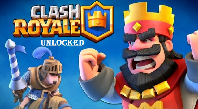 Download Clash Royale Mod Apk Unlocked Game