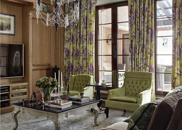 Классический интерьер квартиры в Москве от Катерины Лашмановой