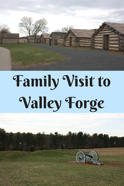 Family Visit to Valley Forge