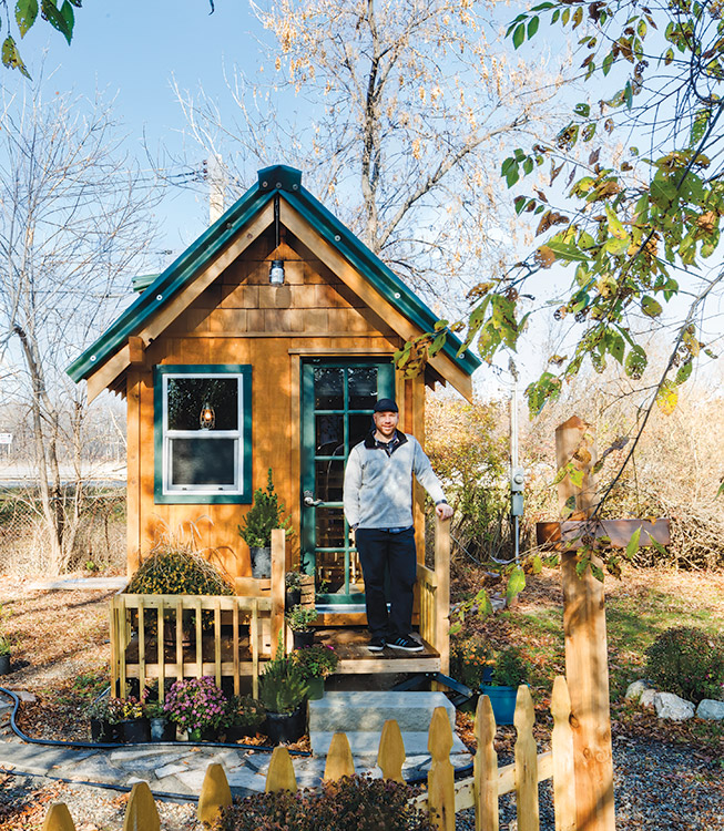 tiny house town lakeside tiny home in michigan