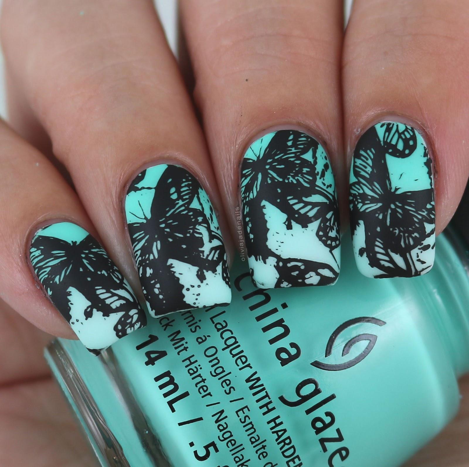 Olivia Jade Nails: Lina Nail Art Supplies Make Your Mark 01 Stamping ...