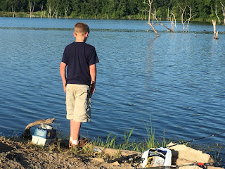 Father Son Fishing, Lake Fishing, Summertime Fishing