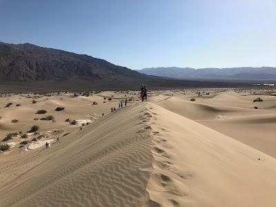 Death Valley - Mesquite Flat Sand Dunes.