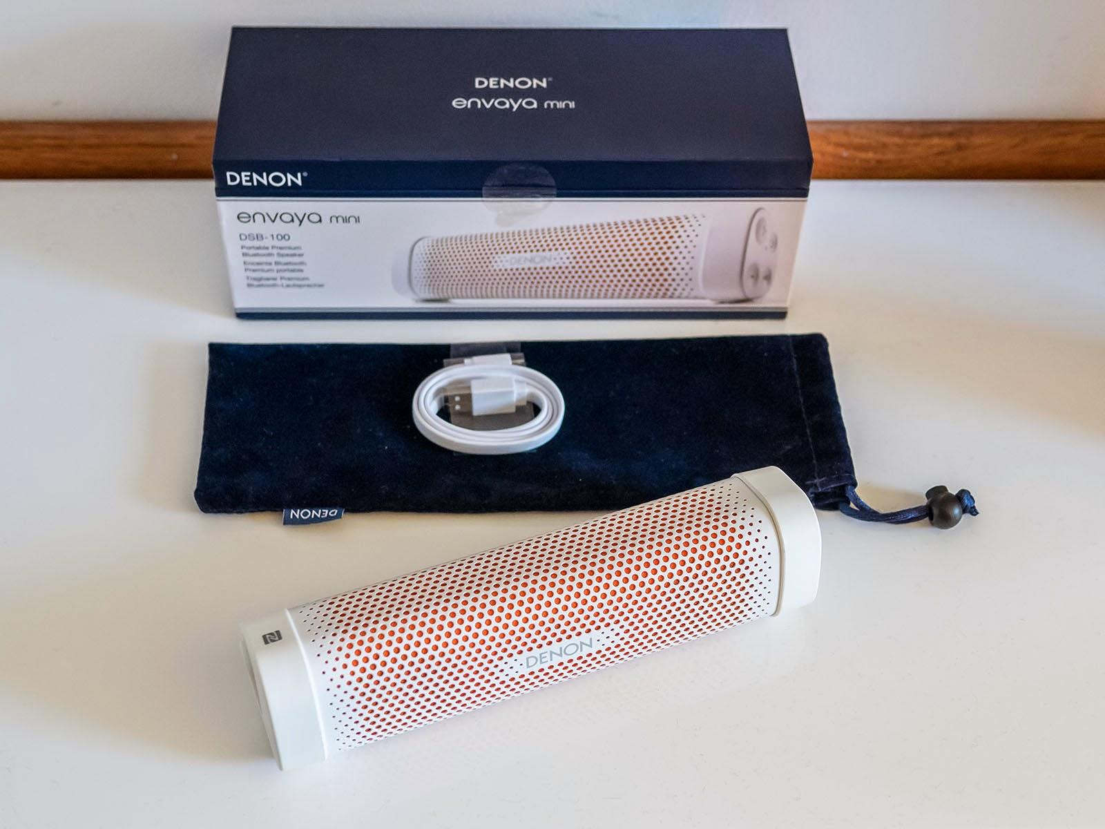 Oluv's Gadgets: Review: Denon Envaya Mini DSB100 - the mini