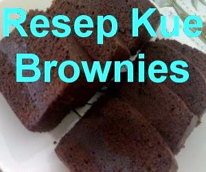Resep Kue Brownies Kukus Lembut dan Enak