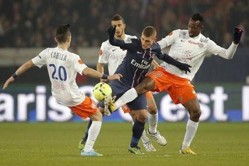 PSG lập tức lấy lại tinh thần sau thất bại trước Lyon bằng 3 điểm từ Guingamp