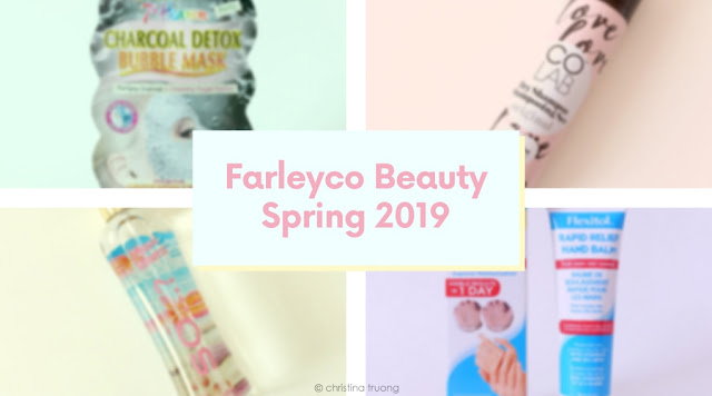 Farleyco Beauty Spring Box 2019 featuring COLAB Dry Shampoo, Flexitol Rapid Relief Hand Balm, So... ? Maui Waves Body Mist, 7th Heaven Charcoal Detox Bubble Mask Review