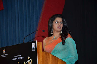 Actress Tanya Ravichandran at Karuppan  tamil press meet pos 02.jpg
