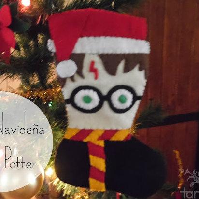 bota navideña harry potter