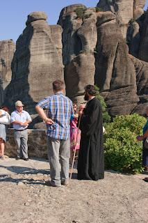 Monastery of St. Nicholas Anapafsas Meteora. Монастырь Святого Николая Анапавсаса в Метеорах.