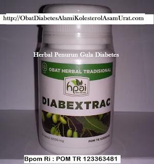 Khasiat alami Obat Herbal HPAI DIABEXTRAC untuk Diabetes Melitus