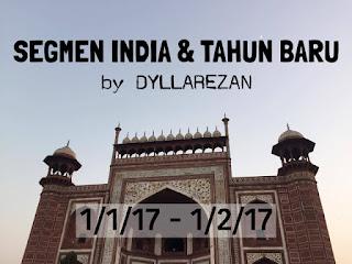 Giveaway India & Tahun Baru by Dyllarezan