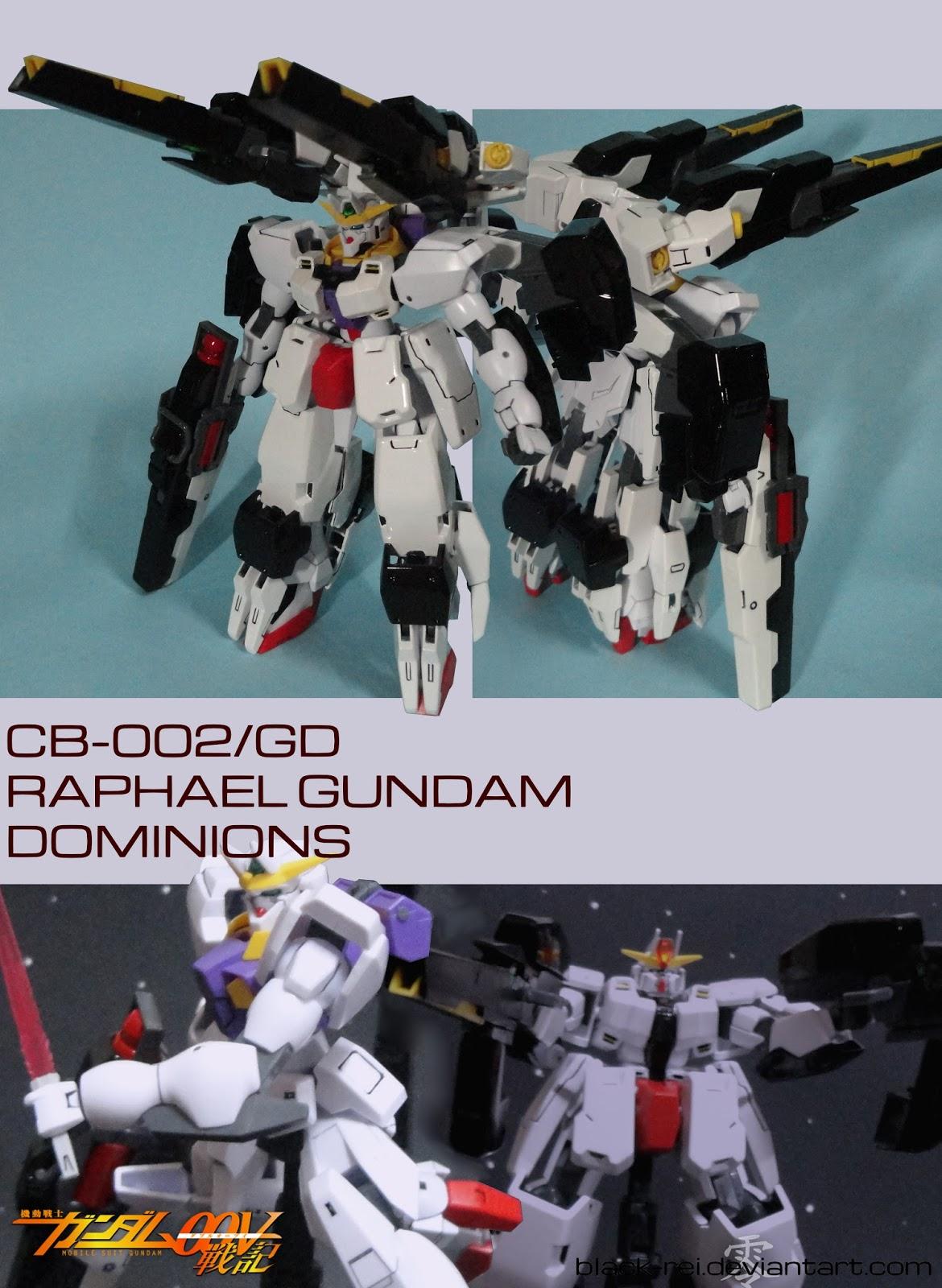 Custom Build: HG 1/144 Rafael Gundam SB (Solar Breaker ... |Raphael Gundam Sdgo