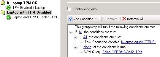 Check for TPM Before Enabling Bitlocker during OSD
