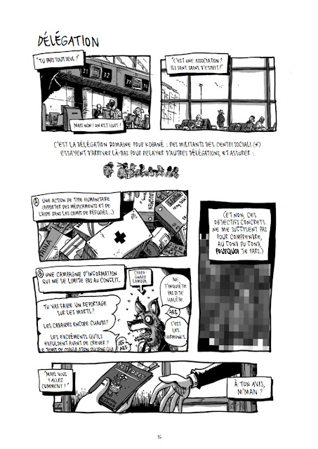 Kobane Calling page 16 aux éditions Cambourakis