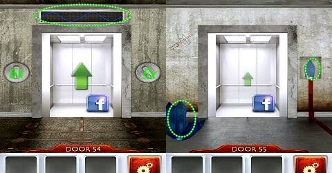 Walkthrough 100 Doors 2 Level 53 54 55 56 57