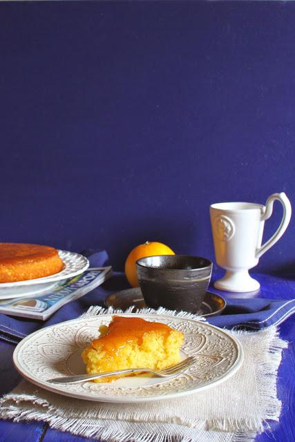 Najlepsze ciasto z gotowanych pomarańczy.