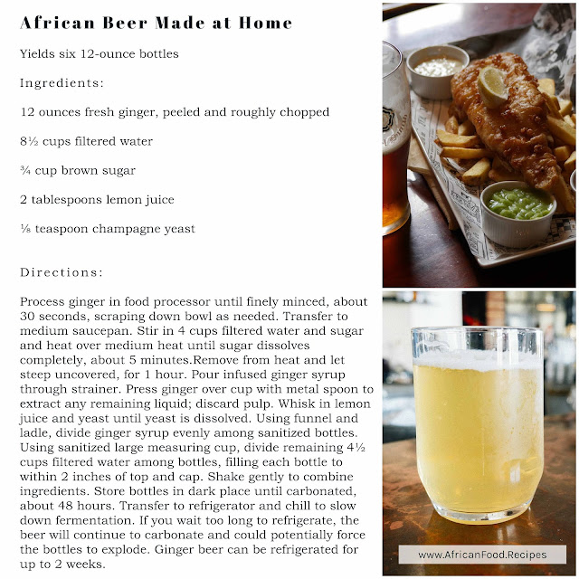 African Beer Made at Home