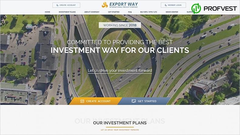 Export Way обзор и отзывы HYIP-проекта
