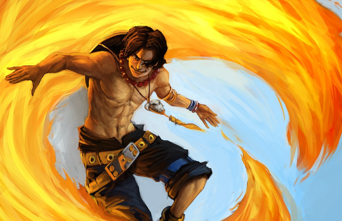 Fire Fist Ace 5 Fan Arts And Wallpapers  Your Daily Anime