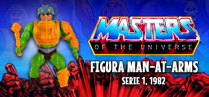 Masters del universo: Man-At-Arms (Mattel, 1982)