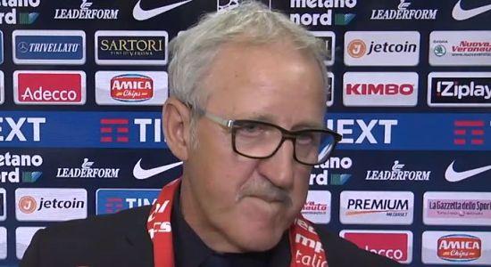 """Verona Milan 2-1, Delneri: """"Dispiace per come sia andata la stagione, ma abbiamo dimostrato di essere un gruppo unito ancora vivo, la squadra è con la città."""""""