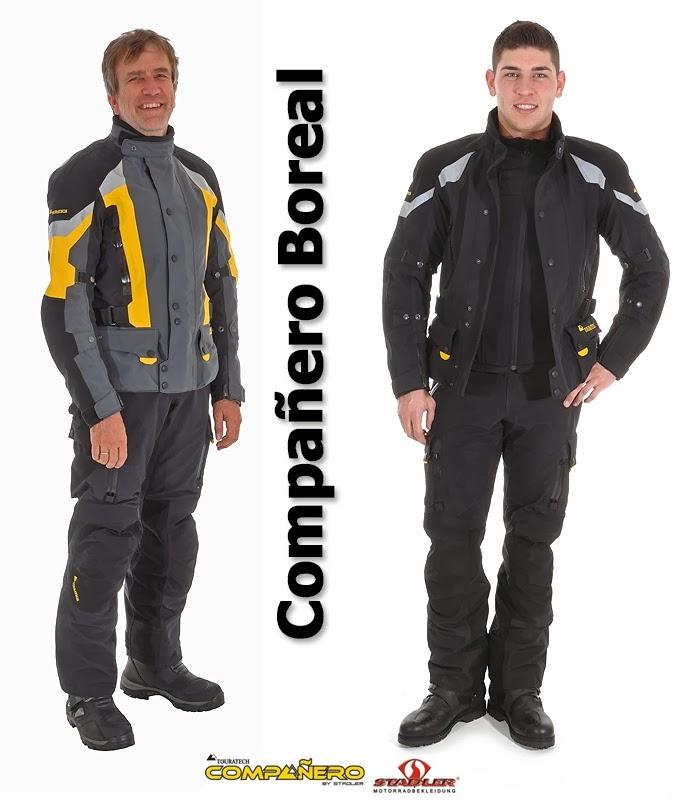 Oblečení Compañero Boreal je naprosto ideální pro touring - dálkové  cestování převážně po silnici. 4719315043