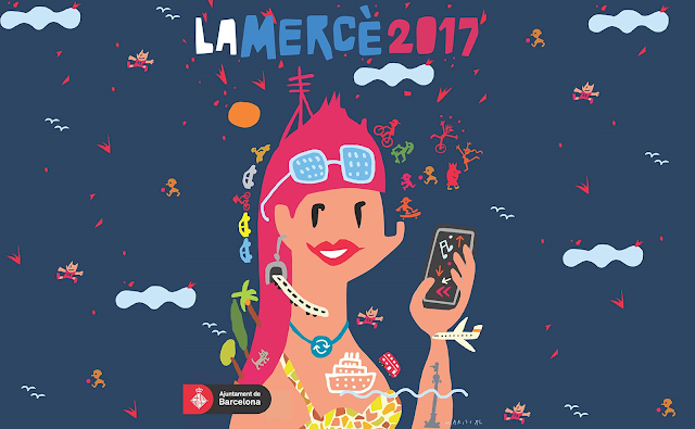 Imagem do cartaz da festa, retirado do site http://lameva.barcelona.cat/merce/es/