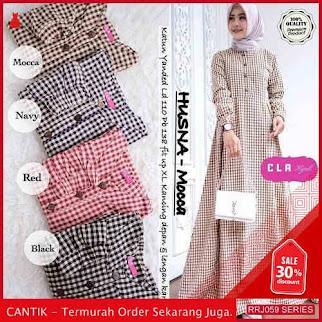 Jual RRJ059D341 Dress Husna Maxy Wanita Vg Terbaru Trendy BMGShop