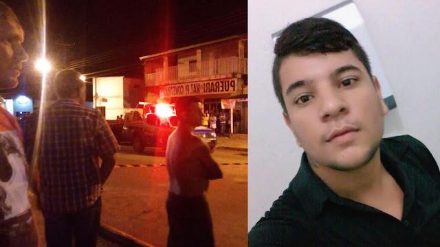 Discussão em bar termina com jovem assassinado com três tiros em Cacoal