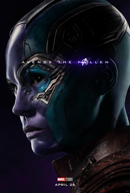 Posters Individuales De Avengers Endgame Actualizados Jposters