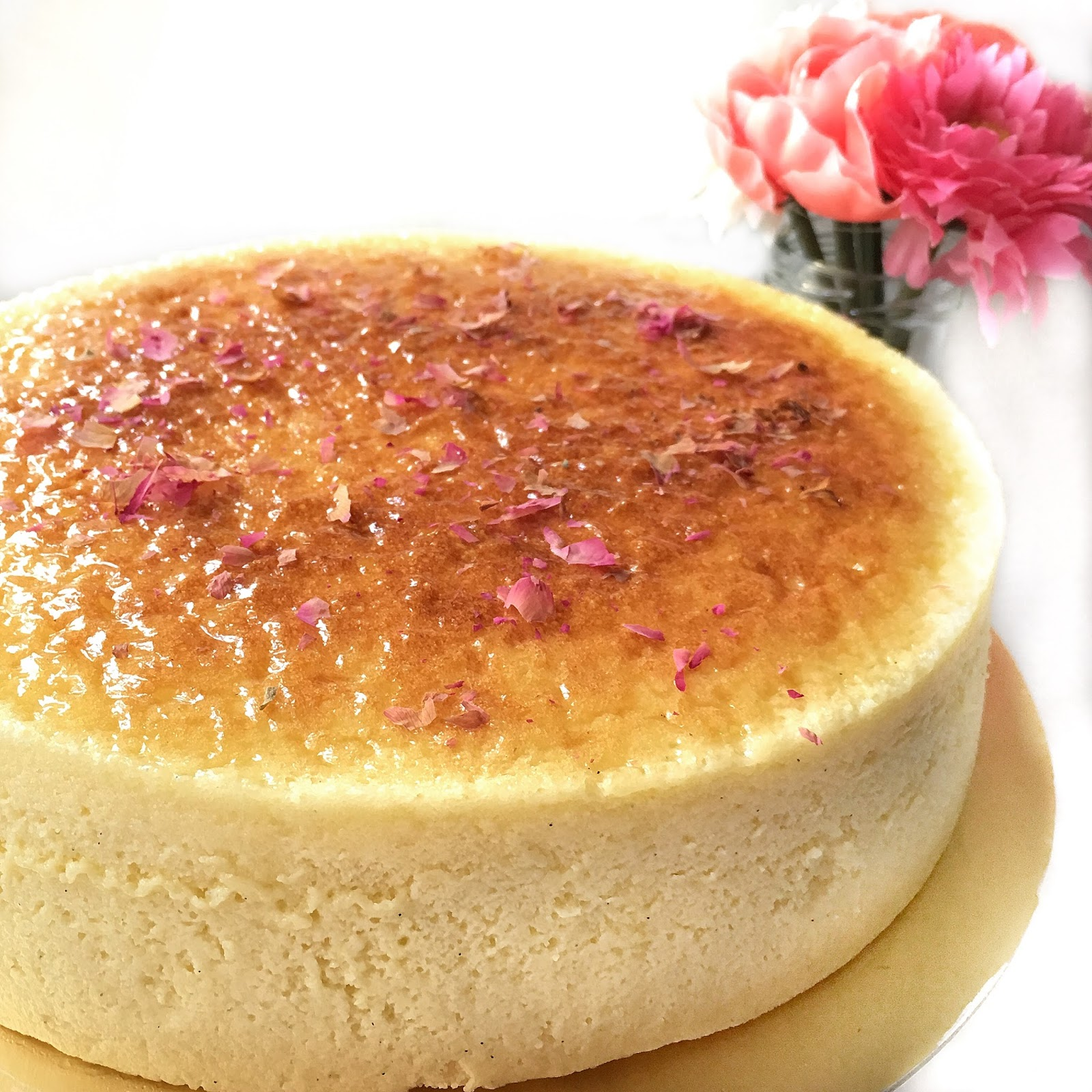 Melt in your mouth Japanese Cheesecake
