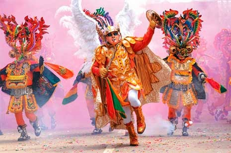 Turismo carnavalero 'made in' Bolivia