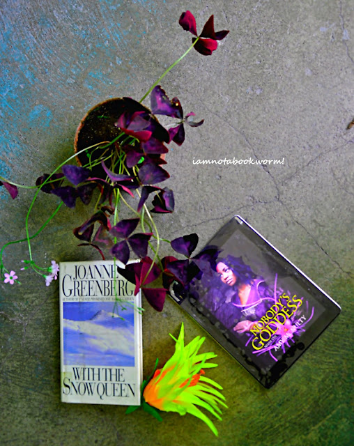 Nobody's Goddess by Amy McNulty | A Book Review by iamnotabookworm!