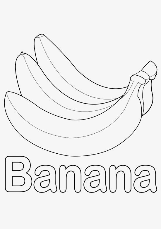 Letter B Stand for Banana