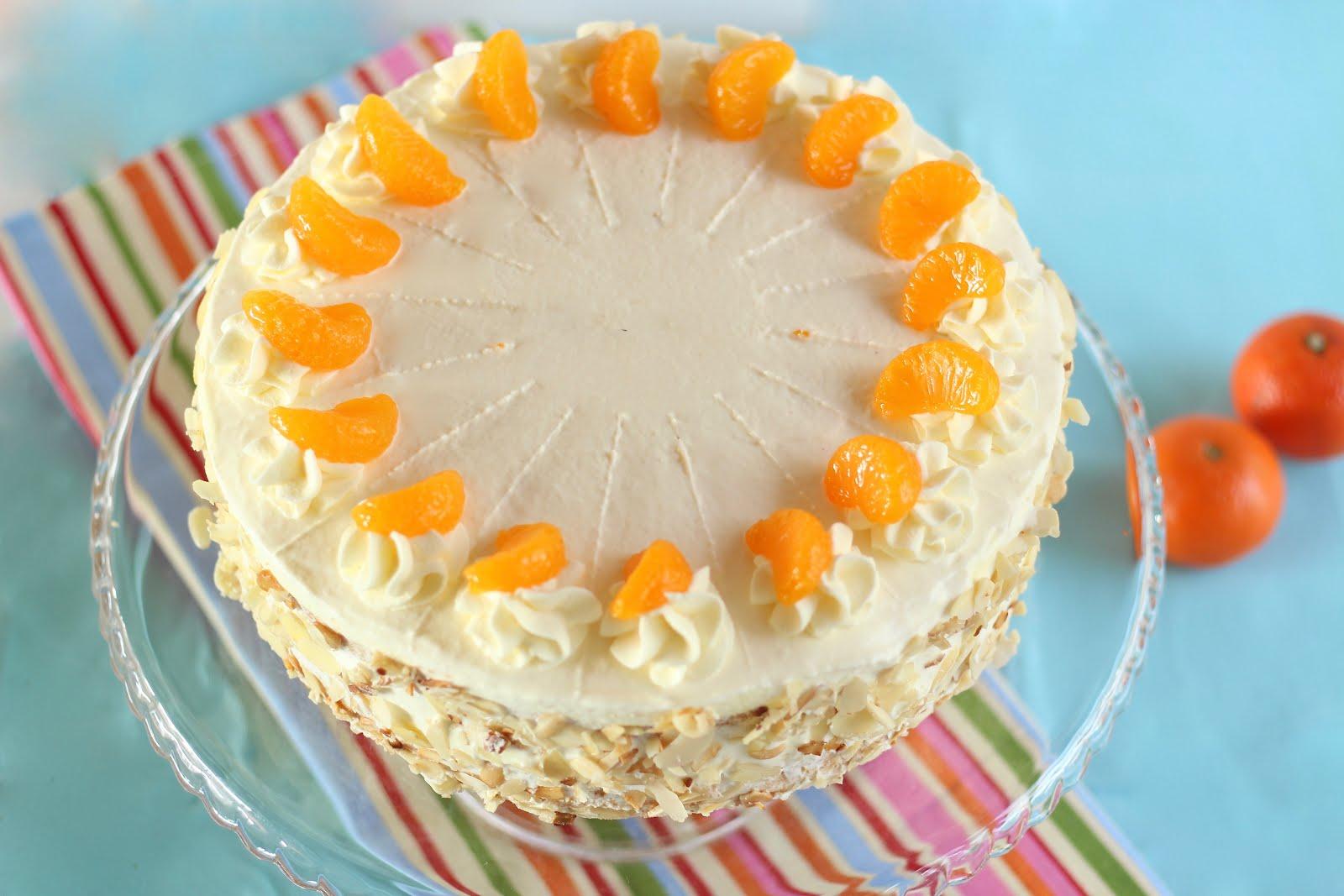 Blitzschnelle Mandarinen-Schmand-Torte: Mandarinen im Paradies | Rezept und Video