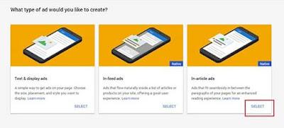 Cara Membuat Iklan Adsense In-Article Pada Postingan Blog Terbaru