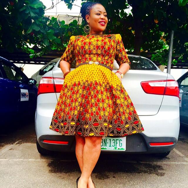 Have You Seen These Ankara Maternity Styles Beautiful Nigeria