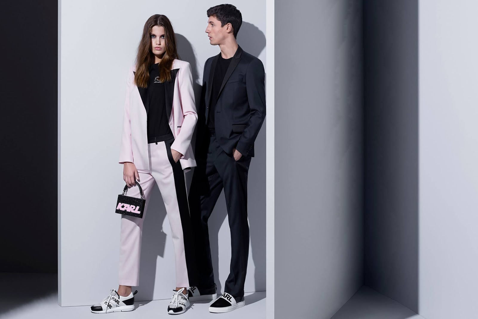 Karl Lagerfeld Spring/Summer 2018 Campaign featuring Luna Bijl