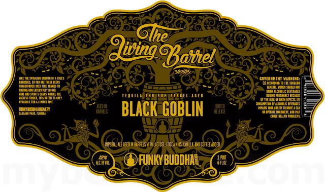 Funky Buddha Tequila & Rum barrel Aged Black Goblin Returning To The Living Barrel