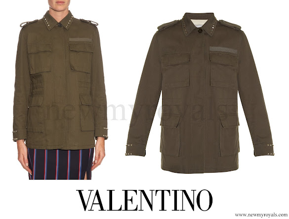 Princess Madeleine wore Valentino Byron cotton jacket