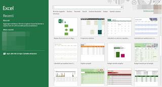 modelli Excel