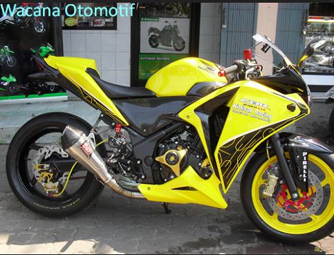 modifikasi motor honda cbr 250cc