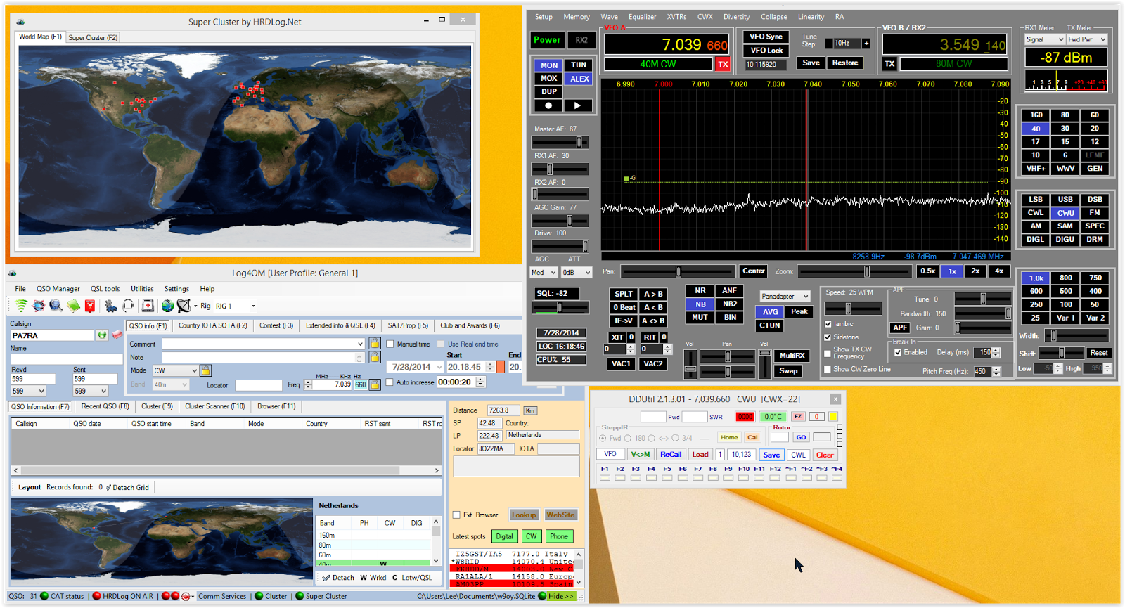 Software Defined Ham Radio: How do I manage all these