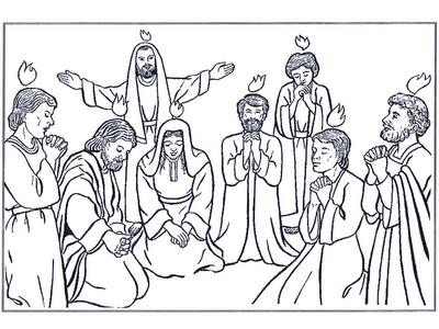 iam pequenos e grandes missionÁrios colorir pentecostes