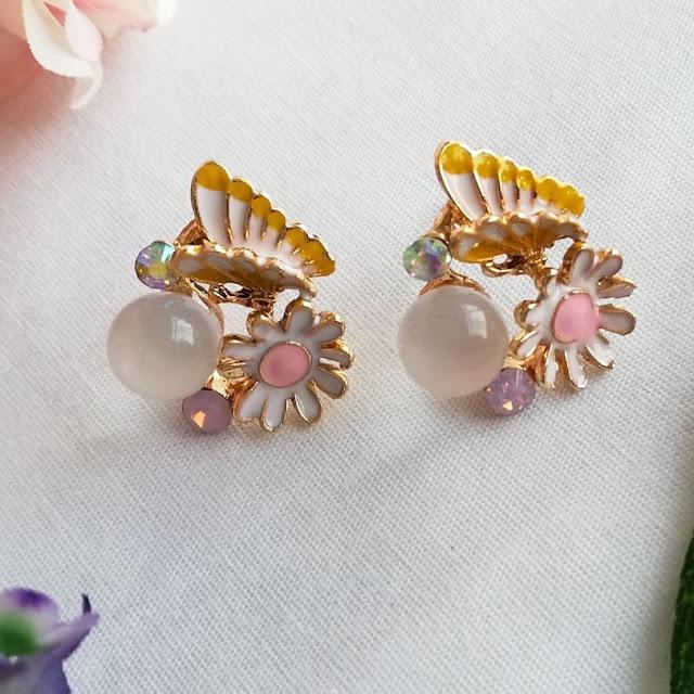 Dijual perhiasan imitasi impor Kemilau berkualitas KWANG EARRING, Toko Online Jakarta