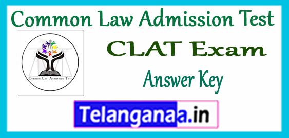 CLAT Common Law Admission Test Answer Key Results 2018 Counselling Time Table