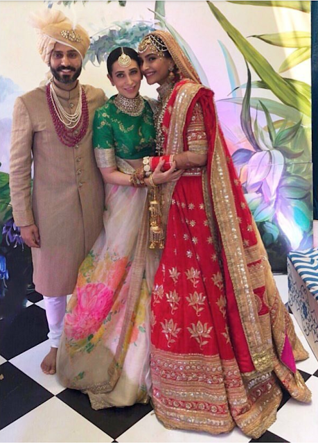Sonam and Anand are Finally Married - Congratulations