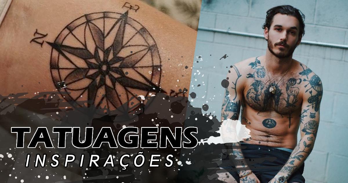 tipos de tatuagens masculinas